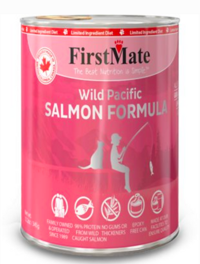 First Mate Wild Pacific Salmon Limited Ingredient Canned Food