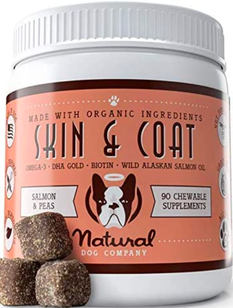 Natural Dog Skin and Coat Supplement