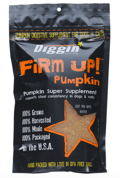 Diggin Your Dog Pumpkin Flake firm up