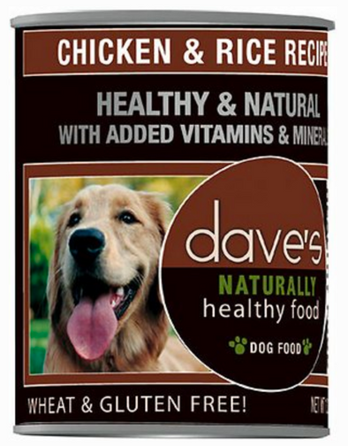 Dave's Naturally Chicken and Rice