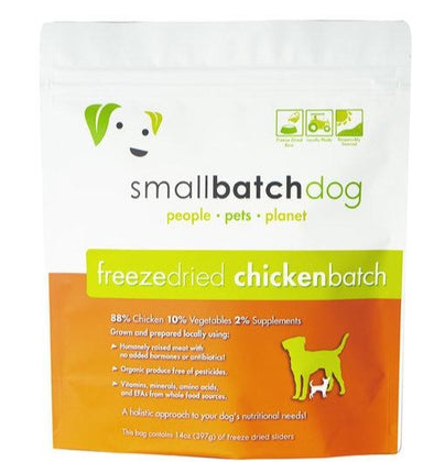 Small Batch Freeze Dried Chicken Dog Food