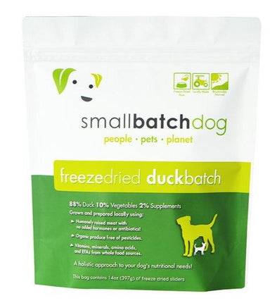 Small Batch Freeze Dried Duck Dog Food