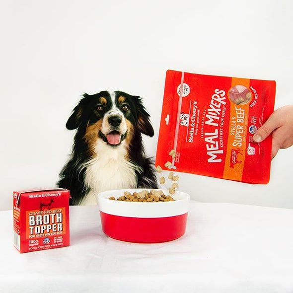 Stella and Chewy's Super Beef Freeze Dried Raw Meal Mixers for Dogs