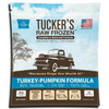 Turkey-Pumpkin Complete and Balanced Raw Diets for Dogs, front of package