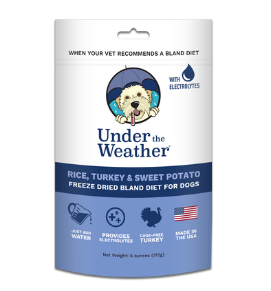 Under the Weather Rice, Turkey and Sweet Potato Freeze-Dried Dog Food