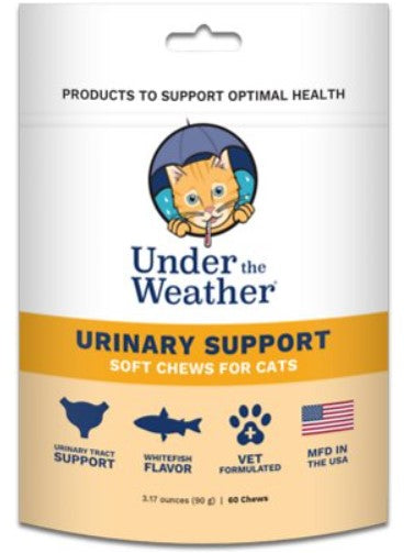 Under The Weather Urinary Support Treats for Cats