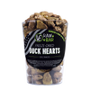 Vital Essentials Freeze-Dried Duck Hearts Treats for Dogs, package