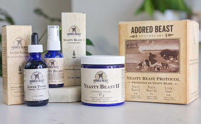 Adored Beast Apothecary Yeast Package, all products