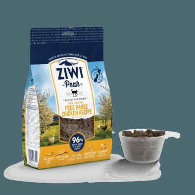 ZIWI Air-Dried Free-Range Chicken Recipe for Cats, front package
