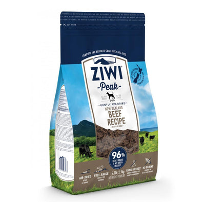 ZIWI Peak Air-Dried Beef Recipe Food for Dogs, front