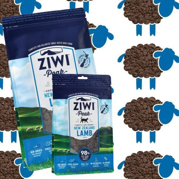 ZIWI Peak Air-Dried Lamb Recipe Food for Dogs, front