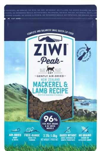 Ziwi Peak Air Dried Mackerel and Lamb For Cats