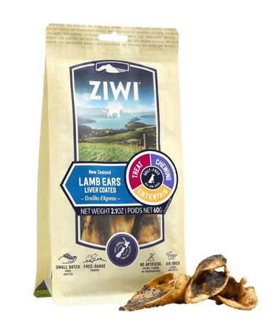Ziwi Peak Lamb Ears Chews for Dogs, front image