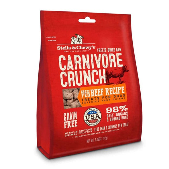 Stella & Chewy's Freeze-Dried Raw Beef Carnivore Crunch