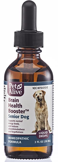Pet Alive Brain Health Booster for Senior Dogs