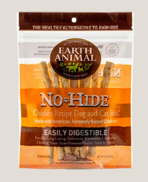 Earth Animal No-Hide® Wholesome Chews for Dogs - Chicken