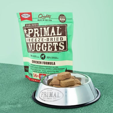 Primal Raw Freeze Dried Canine Chicken Formula Food for Dogs