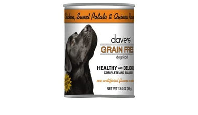 Dave's Grain Free Chicken Sweet Potato Quinoa Canned Food