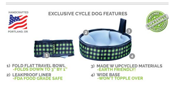 Trail Buddy Collapsible Dog Travel Bowls