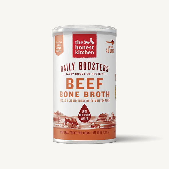 Honest Kitchen Daily Boosters Beef Bone Broth