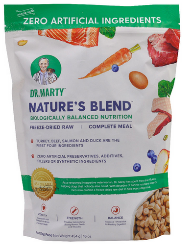 Dr Marty's Freeze Dried Raw Dog Food