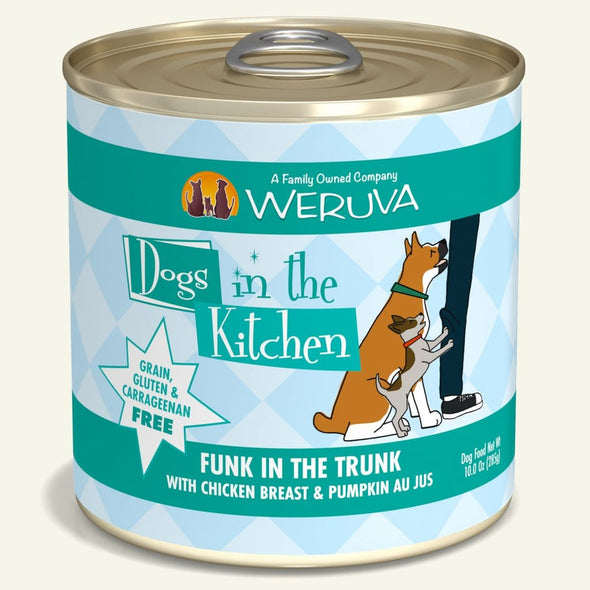 Weruva Dogs in the Kitchen Funk in the Trunk Dog Food