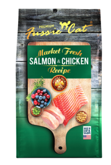 Fussie Cat Market Fresh Salmon & Chicken Meal Cat Dry Food