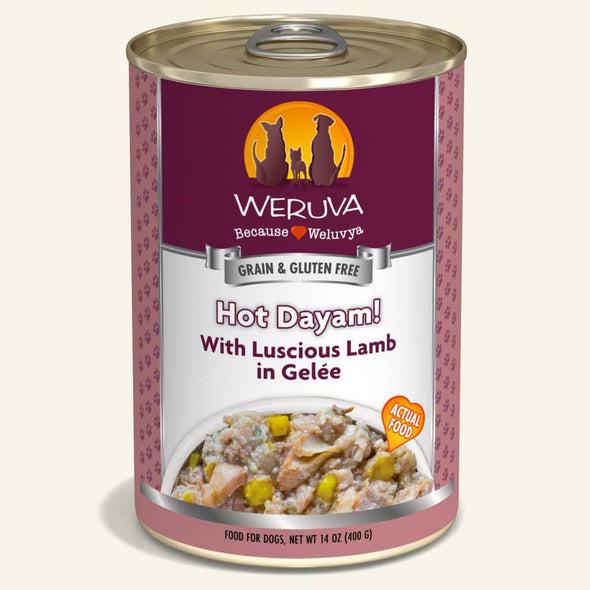 Weruva Hot Dayam! with Lamb Canned Dog Food