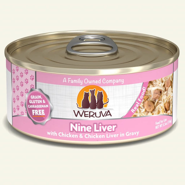 Weruva CAT Nine Liver Canned Food