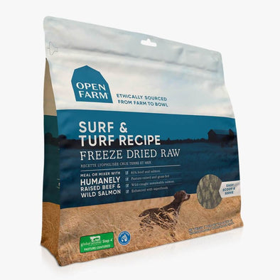Open Farm Surf & Turf Freeze Dried Raw Dog Food