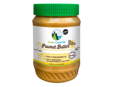 Green Coast Pet Pawnut Butter with Honey