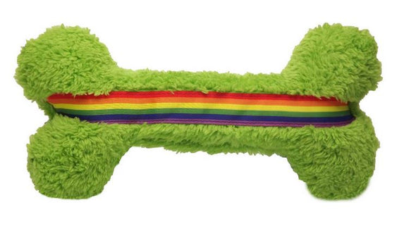 Cycle Dog Duraplush Pride Bone