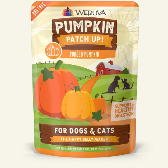 Weruva Pumpkin Patch Up! Dog and Cat Pumpkin Supplement