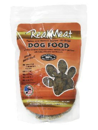 Real Meat Air-Dried Turkey & Venison Dog Food