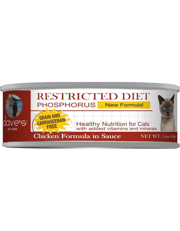 Dave's Restricted Diet Phosphorus Canned Cat Food