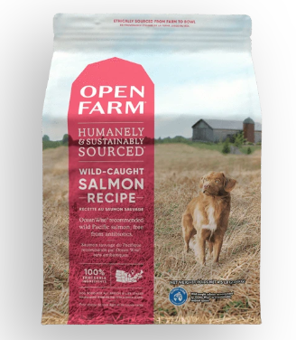Open Farm Wild-Caught Salmon Dry Dog Food