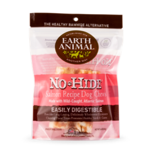 Earth Animal No-Hide® Wholesome Chews For Dogs-Salmon