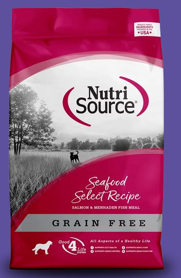 Nutrisource Seafood Select Grain Free Dry Dog Food