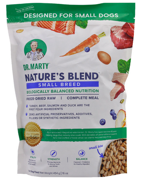 Dr Marty's Small Breed Freeze Dried Raw Dog Food