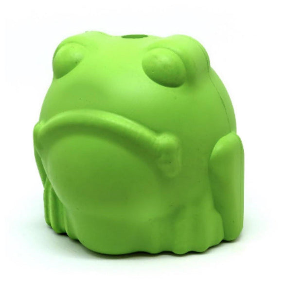 Mutts Kick Butt Bull Frog Treat Dispenser and Chew Toy