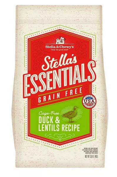 Stella's Essentials High Coastal Wetland Duck Dry Dog Food