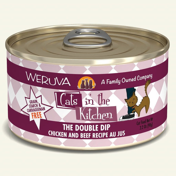 Weruva Cats in the Kitchen The Double Dip Cat Food