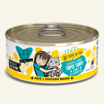 Weruva BFF Paté Topsy Turvy Canned Cat Food