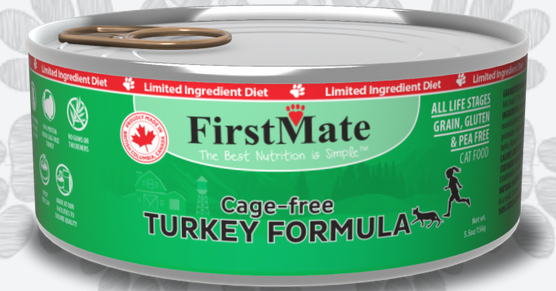 First Mate Turkey Formula Limited Ingredient Canned Cat Food