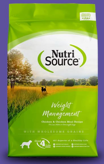 Nutrisource Weight Management Chicken and Brown Rice
