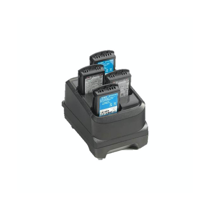 Zebra 4-Slot Battery Charger - OMNIQ Barcodes