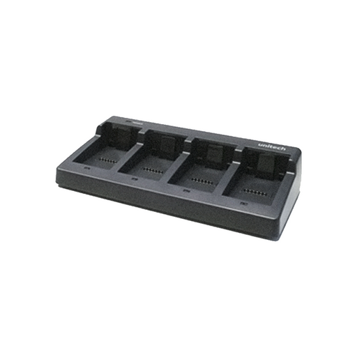 Unitech 4-Slot Battery Charger Cradle - OMNIQ Barcodes