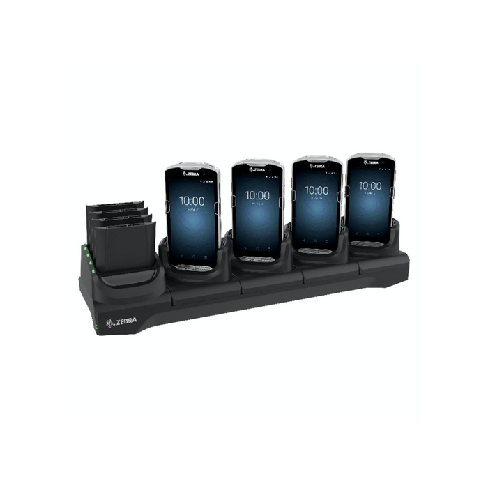 Zebra 5-Slot Charging Cradle with 4-Slot Battery Charger TC51 - OMNIQ Barcodes