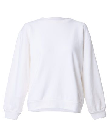 BLUSA MOLETOM TRANCOSO OFF WHITE