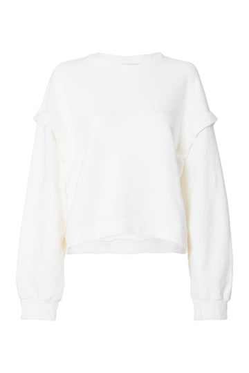 BLUSA MOLETOM BARCELONA OFF WHITE